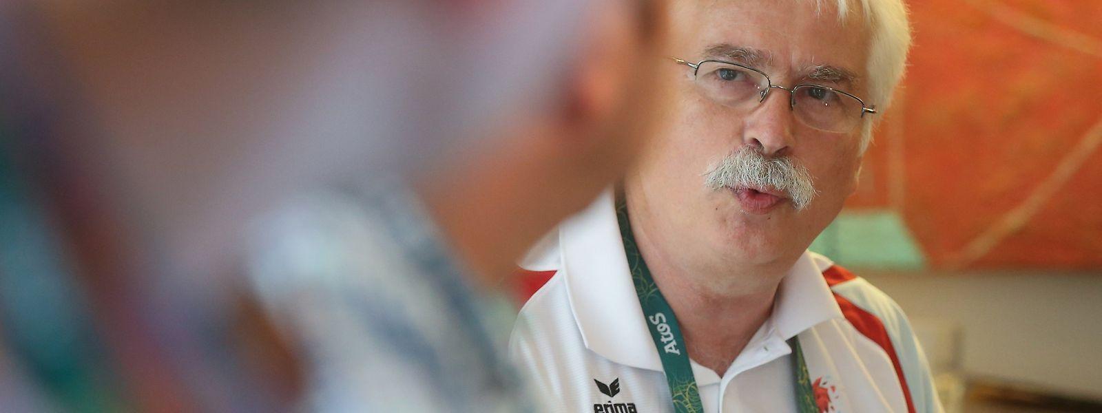 """Heinz Thews: """"Wir haben gute Leistungen unserer Athleten gesehen."""""""