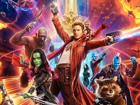 Die Guardians of the Galaxy reviennent pour un Vol. 2.