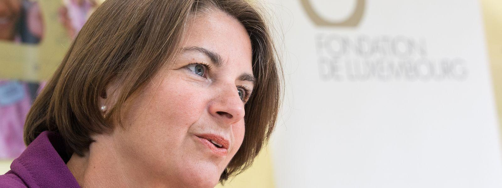 """Pour la directrice de la Fondation de Luxembourg, Tonika Hirdman, """"2020 reste une formidable année de mobilisation""""."""