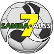O logo do novo clube que resultou da fusão do Samba Seven e da ALSS