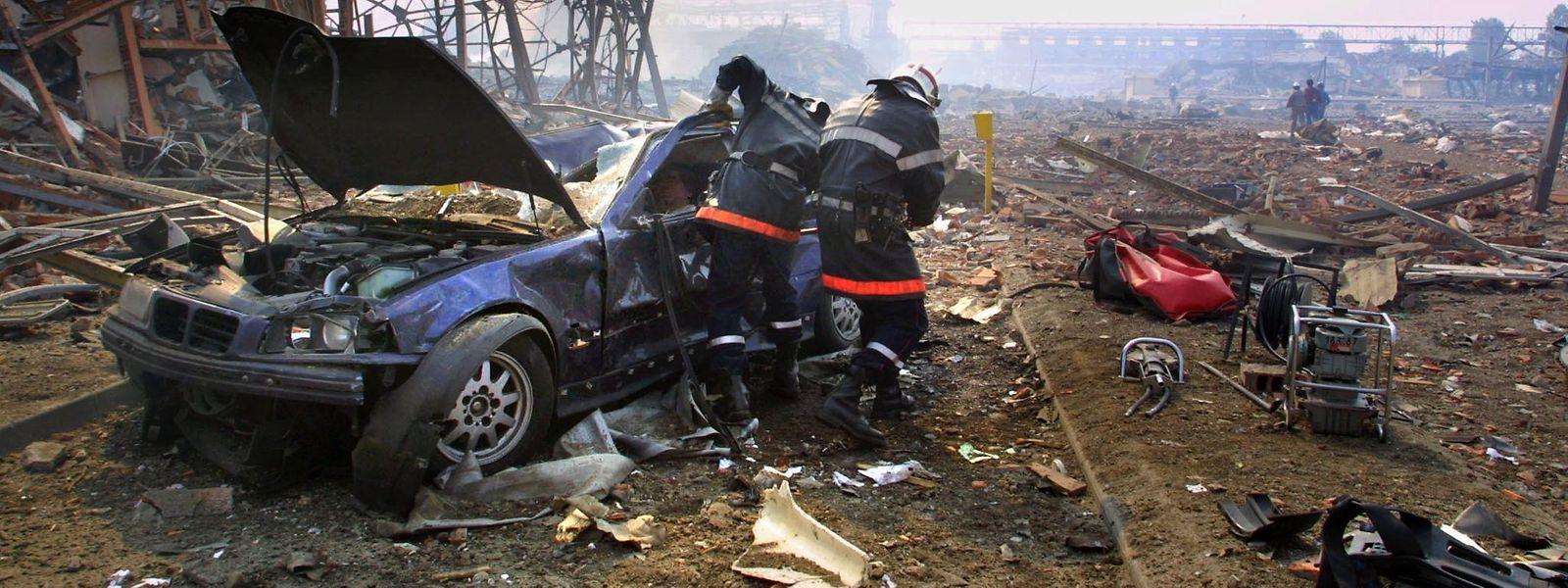 31 Menschen starben 2001 bei einer Ammoniumnitrat-Explosion im französischen Toulouse.