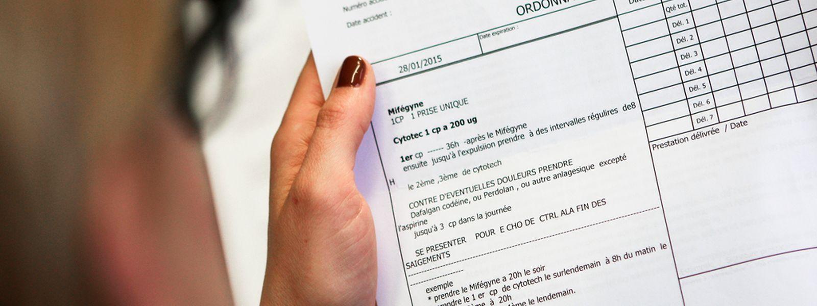 La plupart des IVG pratiquées au Luxembourg se font par médicaments, un phénomène que les codes de la CNS ne prennent pas en compte.