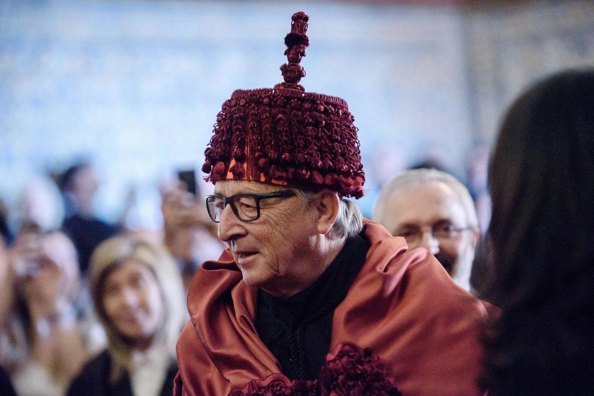 Jean Claude Juncker em Coimbra.