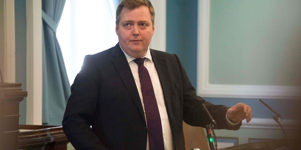 Gunnlaugsson ließ erklären, er habe nur vorgeschlagen, vorübergehend einen Stellvertreter einzusetzen.