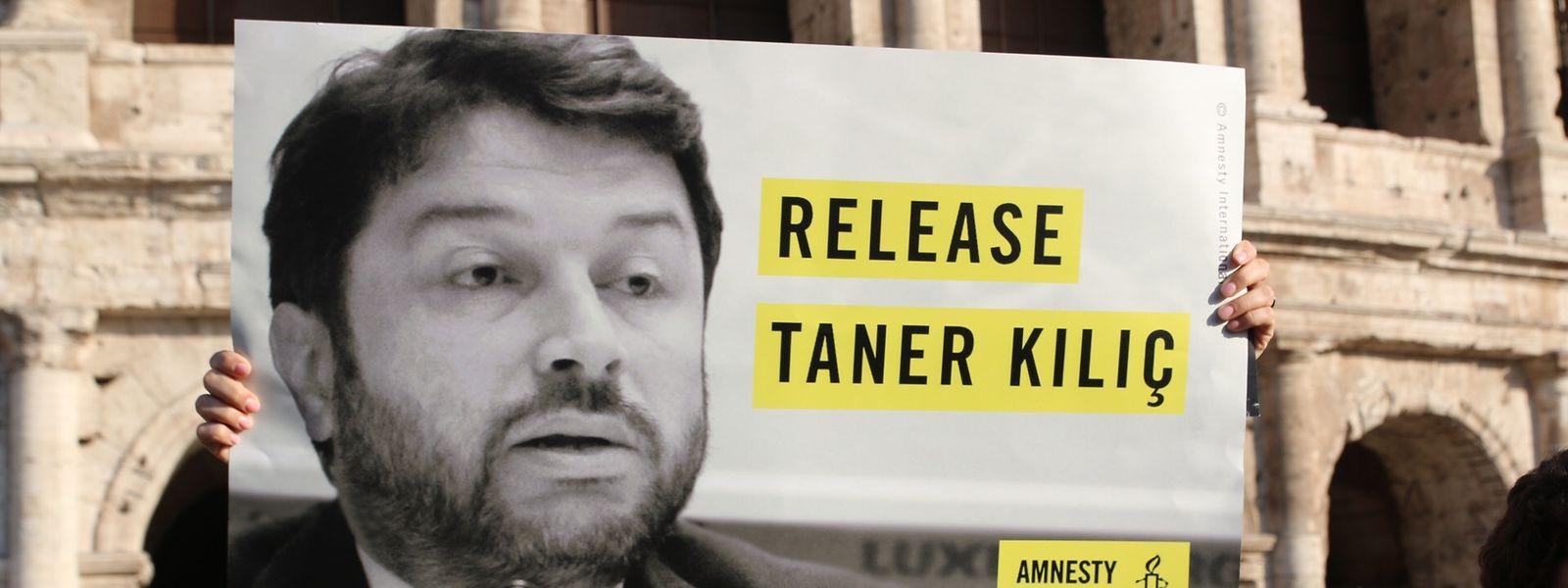 Taner Kılıç, Ehrenvorstitzender von Amnesty International Türkei, wurde zu mehr als sechs Jahren Haft verurteil.
