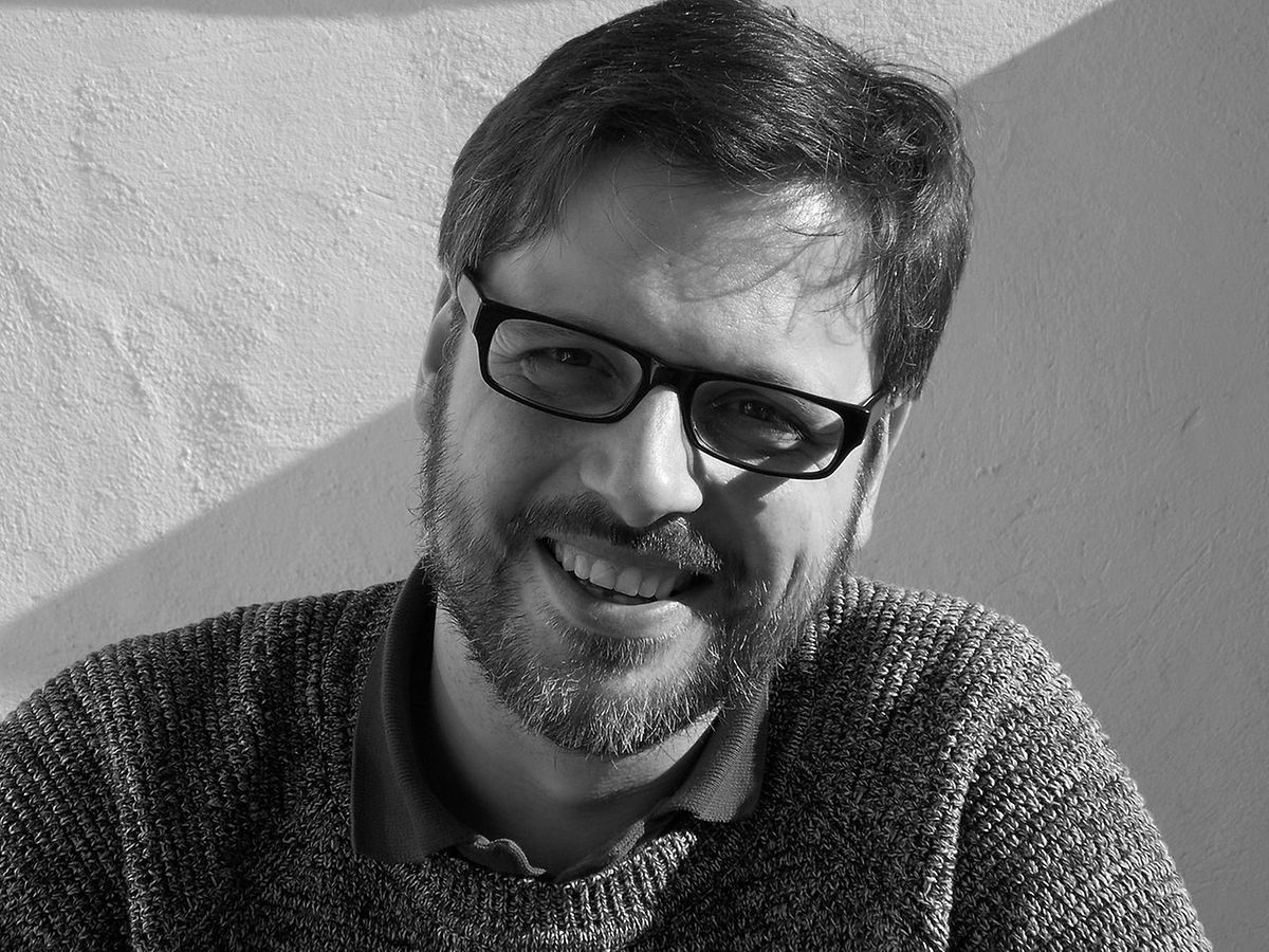 Der Psychologe und Journalist Sebastian Bartoscheck im Gespräch mit der KNA.