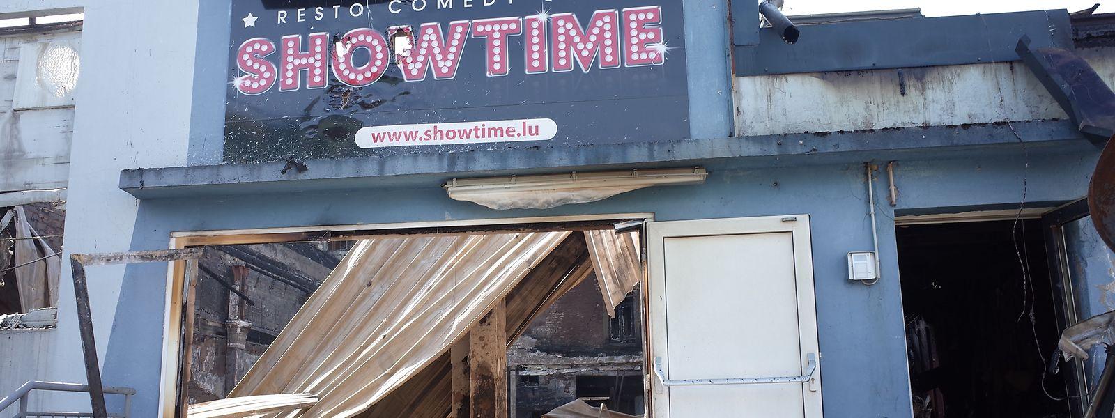 Die Halle des Showtime ist eingefallen.