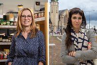 Myriam Cecchetti und Nathalie Oberweis werden am Mittwoch im Parlament vereidigt.