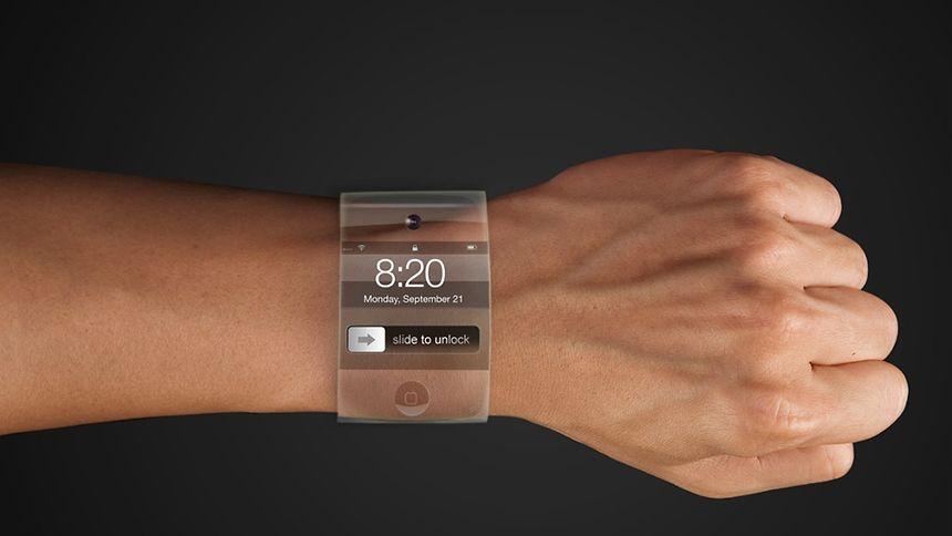 Die Phantasie der Apple-Fans ist grenzenlos: Sieht so die iWatch aus?