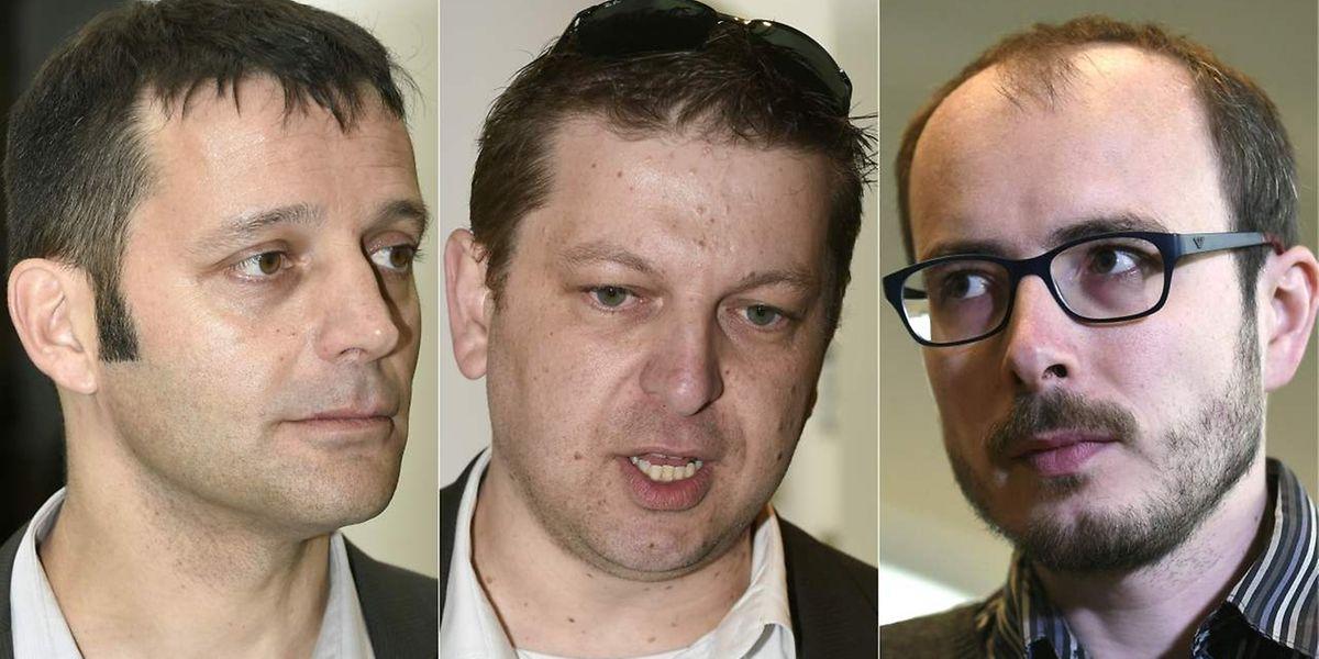 Edouard Perrin, Raphaël Halet et Antoine Deltour devraient assister au prononcé du jugement