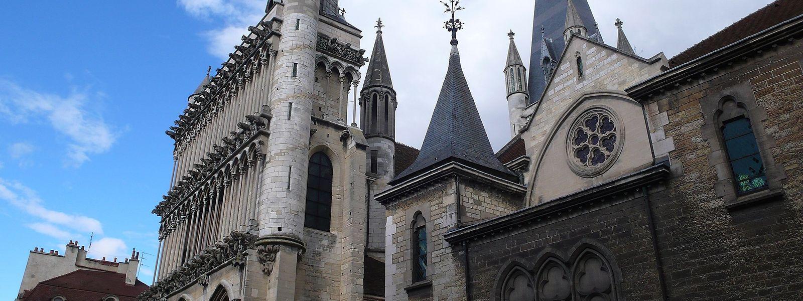 Notre-Dame in Dijon gilt als schönste Kirche Burgunds aus dem 13. Jahrhundert.