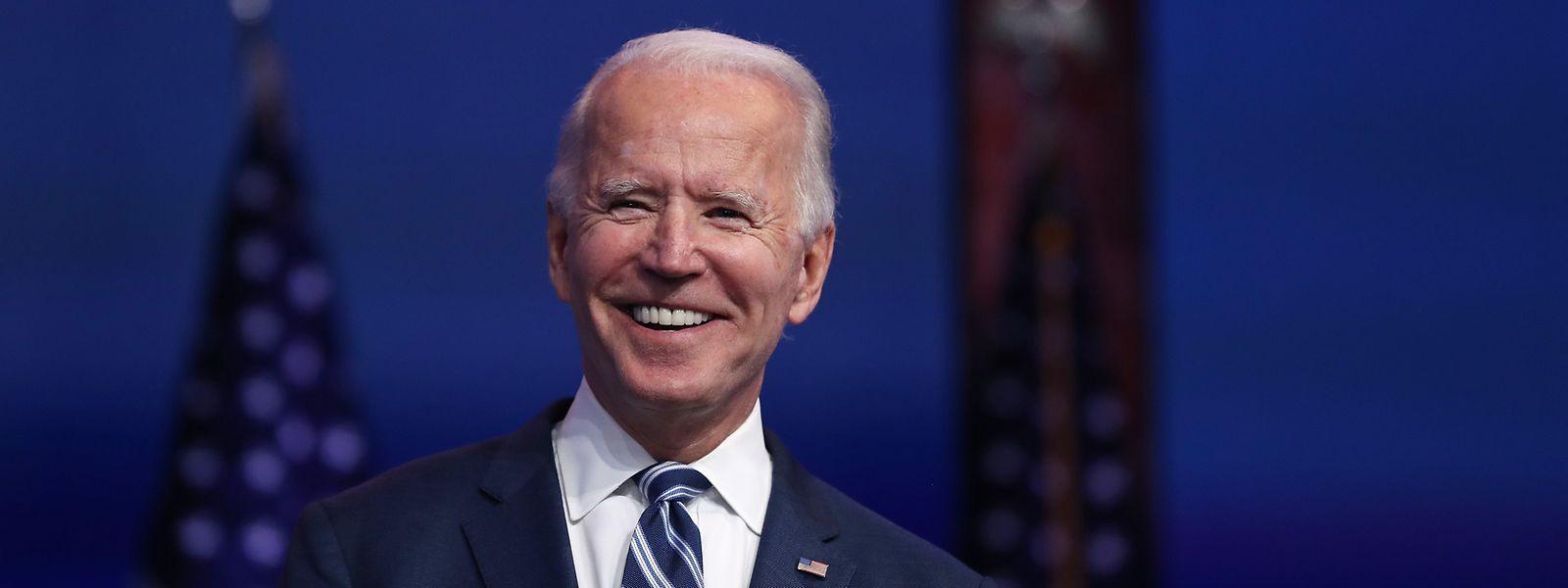 Joe Biden bei einer Rede in Wilmington, Delaware.