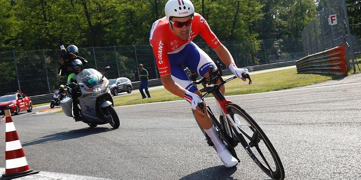 Tom Dumoulin a signé un numéro lors de cette 21e et dernière étape entre Monza et Milan.