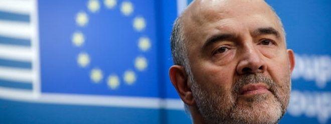 O comissário europeu para os Assuntos Económicos e Financeiros, Pierre Moscovici, apresentou hoje as Previsões Económicas de Verão da Comissão Europeia.