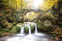 Inbegriff des Müllerthals: Den malerischen Wasserfall kennt fast jeder Luxemburger.