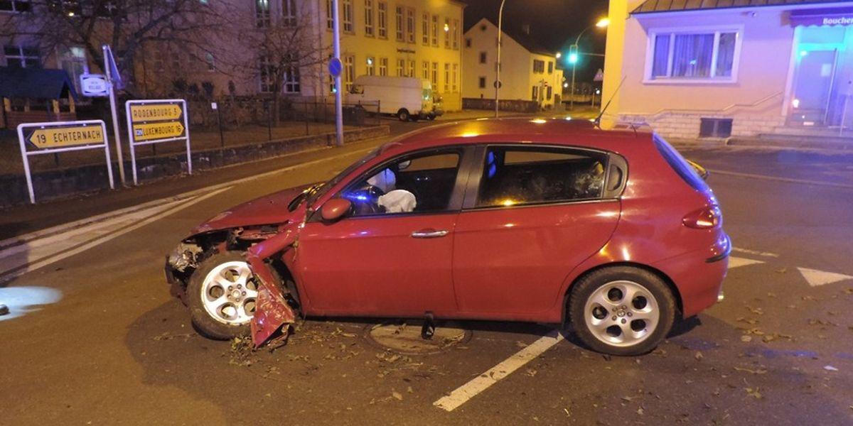 Das Fahrzeug wurde erheblich beschädigt.