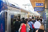 Traffik, Bahn, Luxemburg Gare, Zug, Train, Foto Lex Kleren