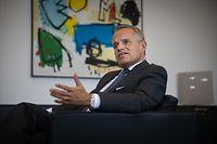 WI,Interview Guy Hoffmann ABBL: Wie kommen Banken durch die Krise, neue Herausforderungen etc. Foto: Gerry Huberty/Luxemburger Wort