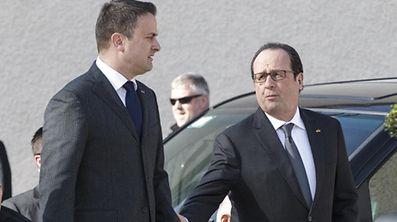 François Hollande était venu au Luxembourg en mars 2015.