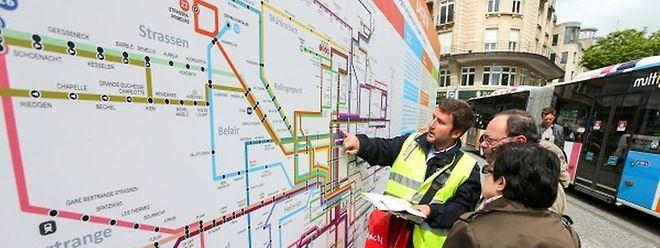 Un nouveau plan du réseau sera distribué à tous les habitants de la capitale.