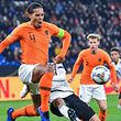 En bon capitaine, Virgil van Dijk a arraché la qualification pour les Oranje en égalisant dans le temps additionnel.