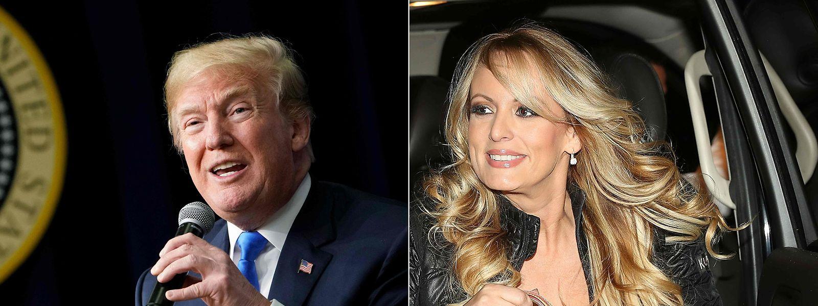 Daniels, die mit bürgerlichem Namen Stephanie Clifford heißt, sagt, dass sie 2006 Sex mit Donald Trump hatte.