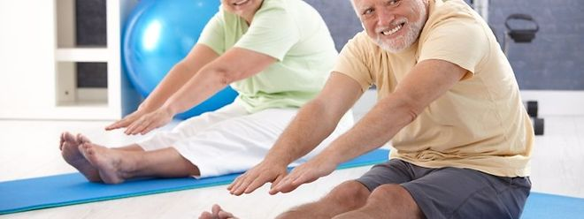 """""""Die Menschen sollen so trainiert sein, dass sie bis ins hohe Alter fit sind"""", meint Dr. Charles Delagardelle."""