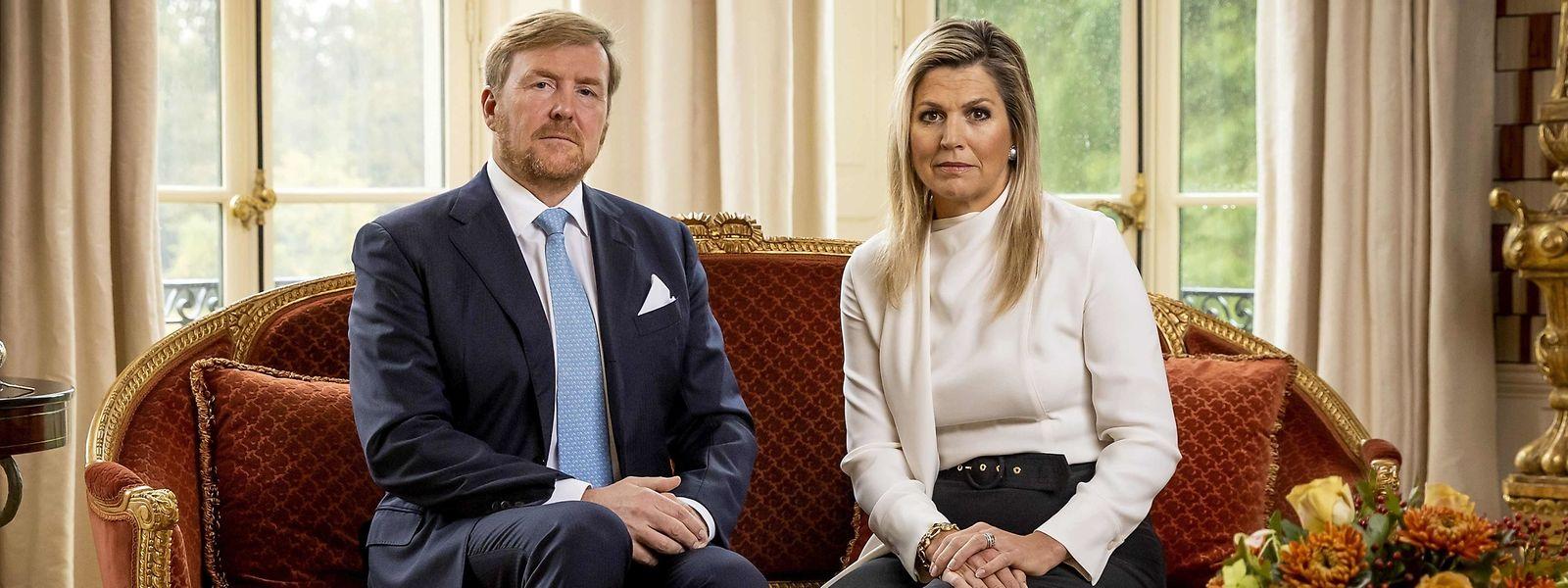 König Willem-Alexander und seine Frau Maxima.