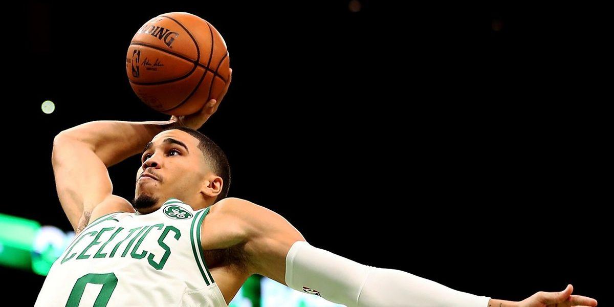 Jayson Tatum et les Celtics n'ont plus été inquiétés par les Sixers après la pause.