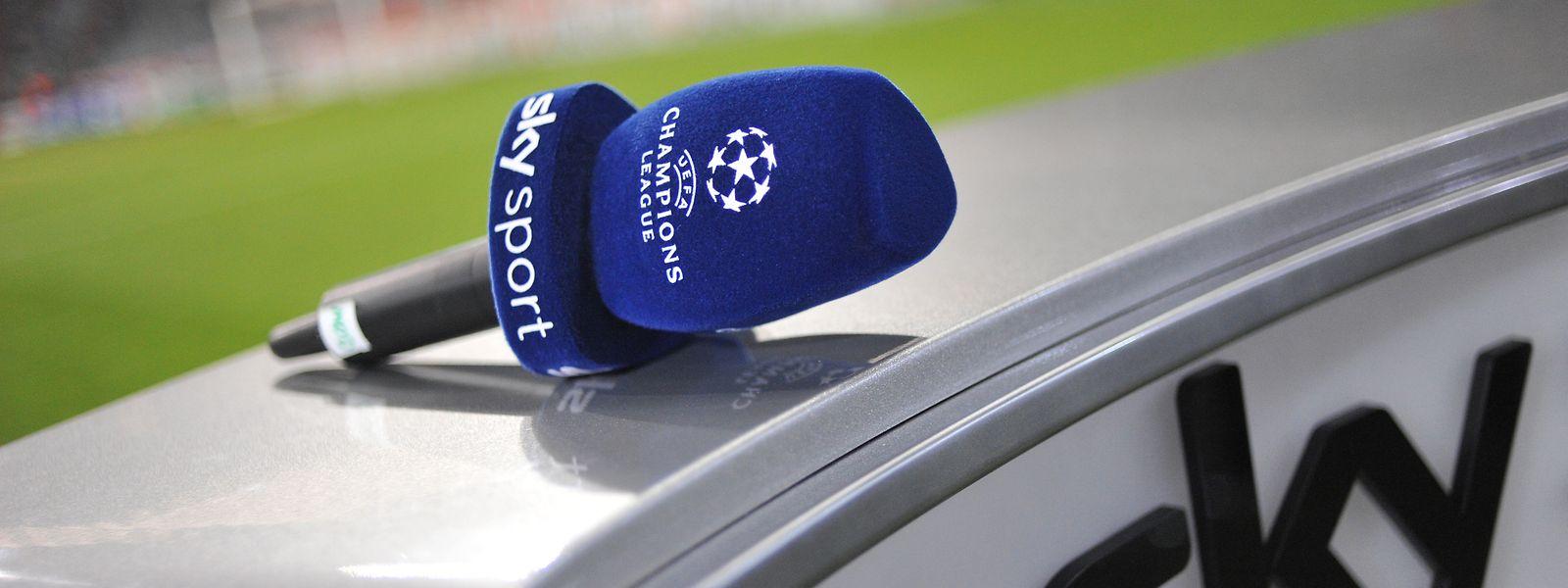 In der nächsten Saison ruht das Sky-Mikrofon in der Fußball-Königsklasse.
