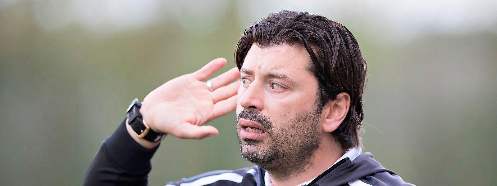 Carlos Fangueiro não quer ouvir falar de derrotas.