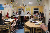 Lokales, Bewegte Schule- Projet vun Sportkomissioun dir d'Grondschoulen Diddeleng, Foto: Chris Karaba/Luxemburger Wort