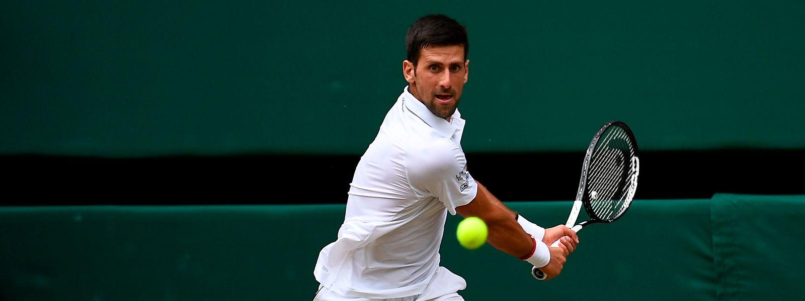 Novak Djokovic disputera ce dimanche sa sixième finale à Wimbledon.