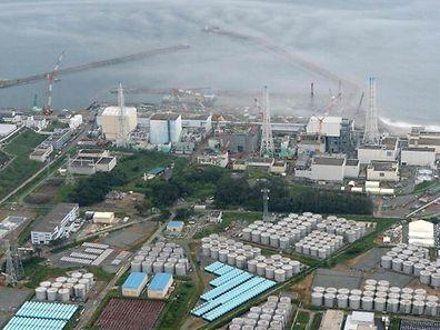 Der Unglücksreaktor von Fukushima auf einer Aufnahme aus dem Jahr 2013.