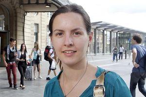 31.7. Contacto / ITV Sofia Araujo , association luxembourgeoise Borreliose de Lyme foto: Guy Jallay