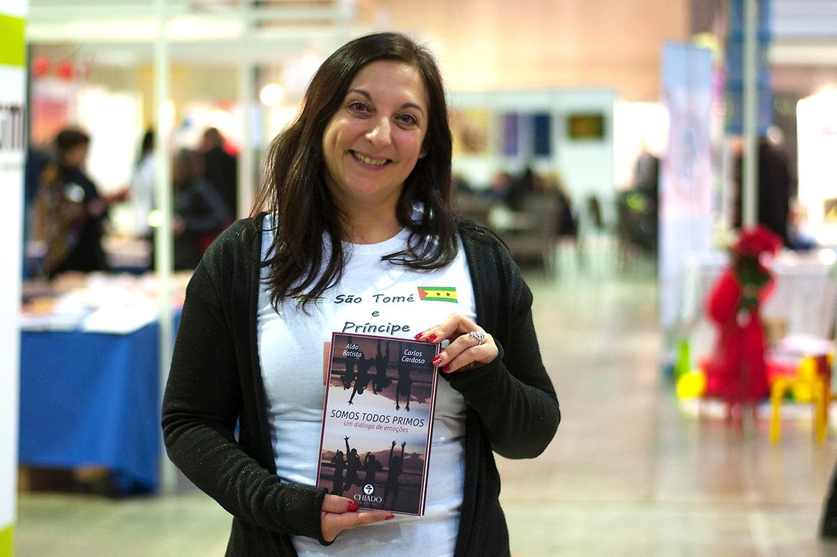 Alda Batista reside e trabalha como tradutora no Luxemburgo