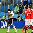 Rússia vence Egito e segue para a próxima fase do Mundial.