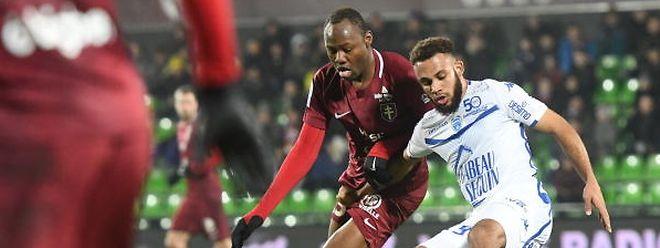 Stoppila Sunzu et les Messins ont fait le métier en allant s'imposer à Ajaccio. Mardi, les Grenats tenteront de valider leur ticket pour la Ligue 1.