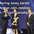 Christine Majerus sur le podium de la Coque, il y a douze mois. La Cessangeoise est la grande favorite à sa propre succession.