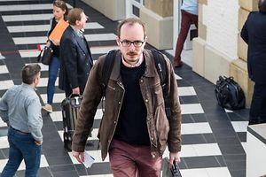 4.5. Wi / Cite Judiciaire / Luxleaks Prozess / Antoine Deltour  Foto:Guy Jallay