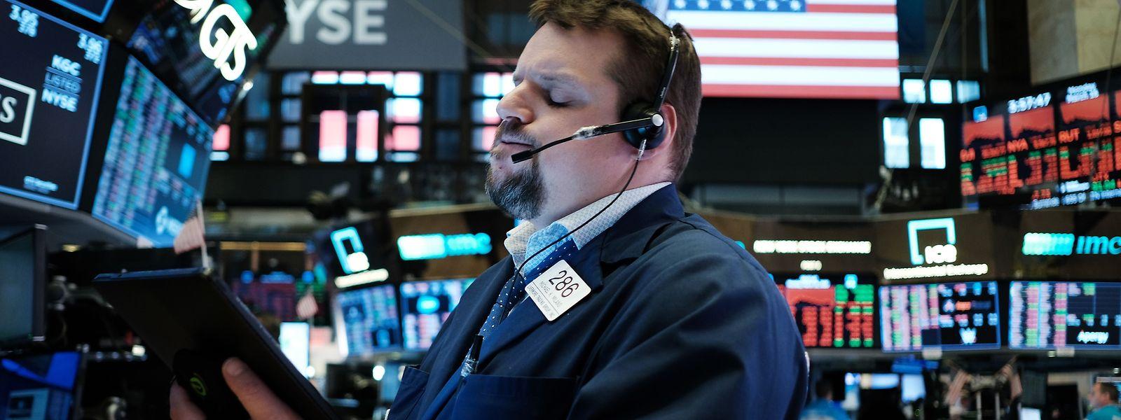 """Die Händler blicken auf einen """"schwarzen Montag"""" zurück."""