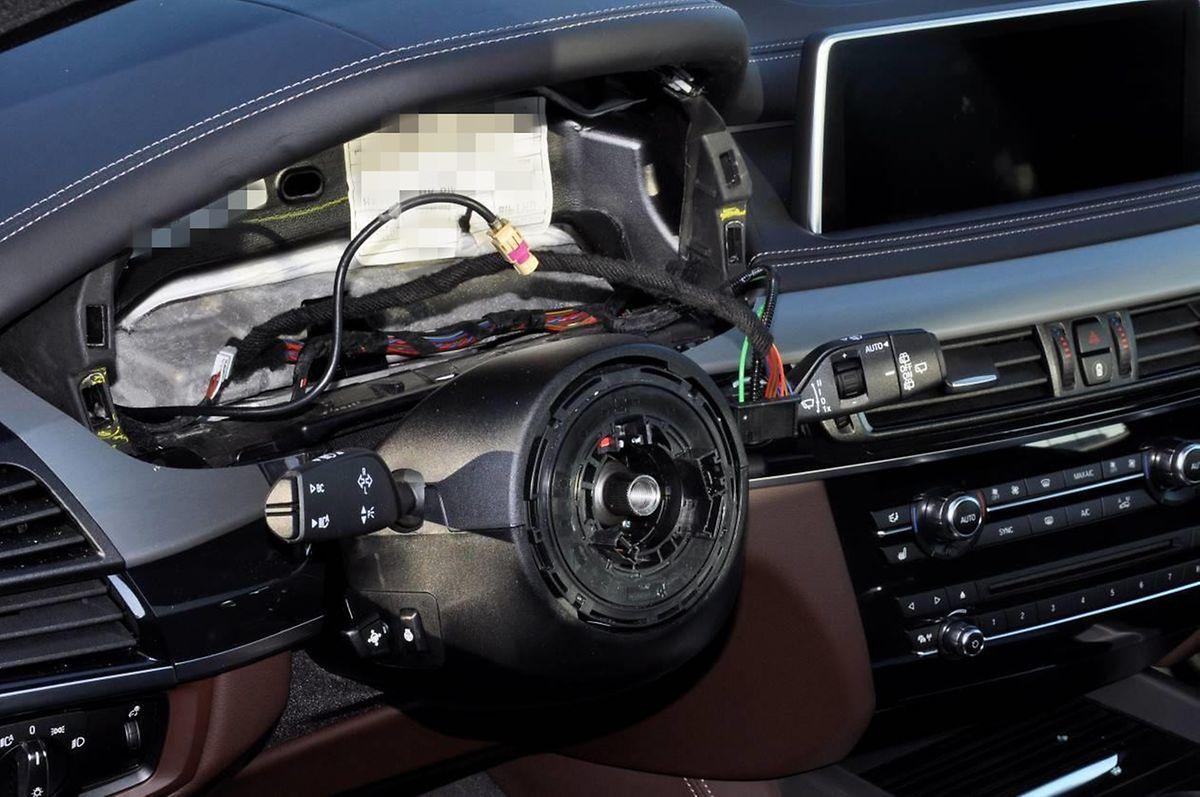 Diebe in Luxemburg haben es auf die Airbags in Autos abgesehen.