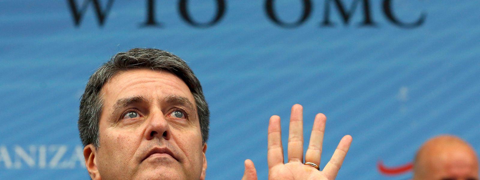 O Director Geral da OMC Roberto Azevedo.