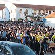 O último adeus a Fábio Mendes, em Meãs do Campo, perto de Coimbra.