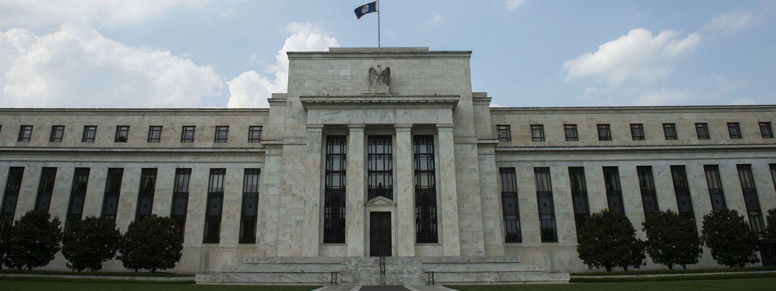 Die US Federal Reserve  in Washington, DC.