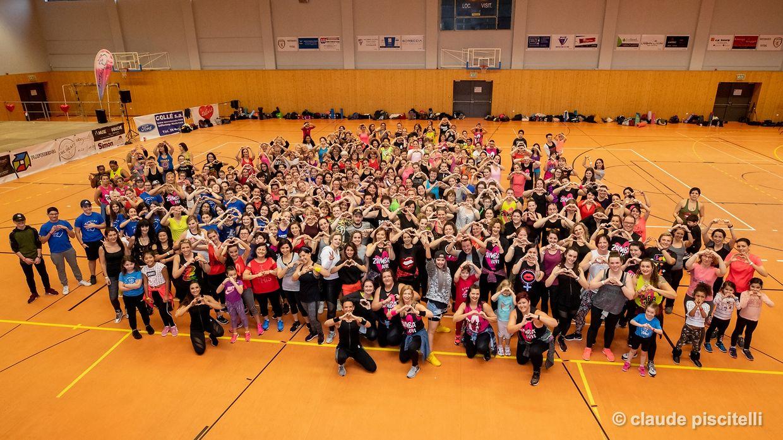 Zumbachicas Zumbathon Charity Event - Rodange -  - 10/02/2019 - photo: claude piscitelli