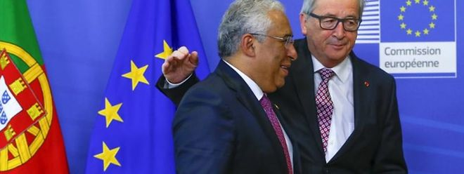 António Costa e Jean-Claude Juncker