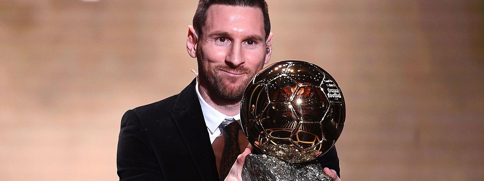 Lionel Messi a de nouveau été plébiscité quatre ans après son dernier sacre..