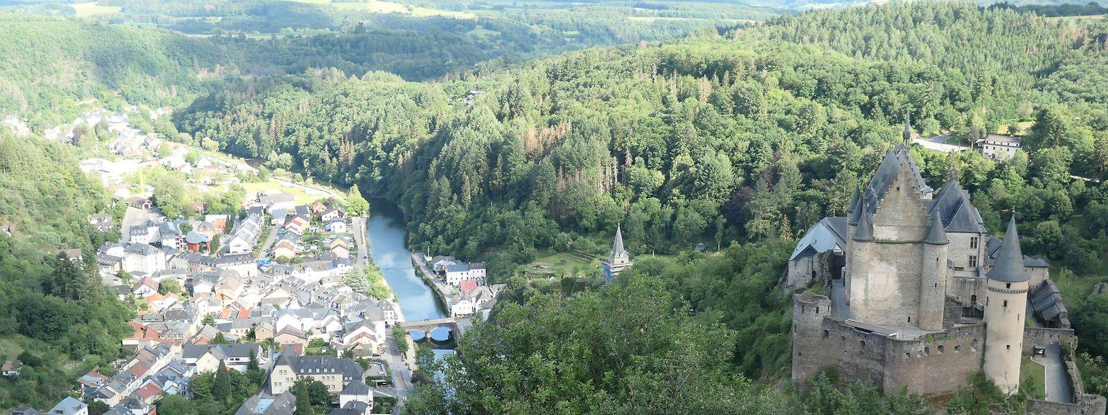 Unter anderem ein Hotel in Vianden steht im Mittelpunkt des Prozesses.