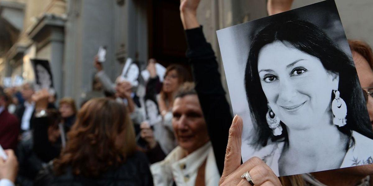 Die maltesische Investigativjournalistin Daphne Caruana Galizia wurde im Oktober 2017 mit einer Autobombe ermordet. Sie hatte sich u.a. mit Recherchen über maltesische Politiker einen Namen gemacht.